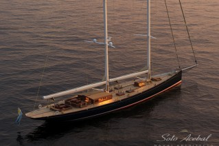 1-Luxury Schooner Dona Francisca by Astillero Buquebus and Soto Acebal NA